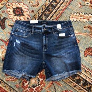 Pants - Judy Blue Frayed Shorts